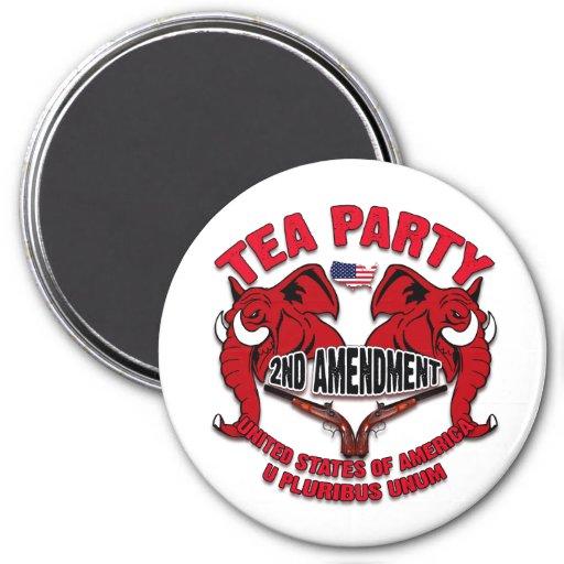 Tea Party 2nd Amendment Magnets