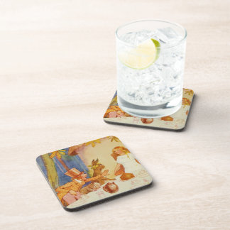 Tea Party 5 Beverage Coasters