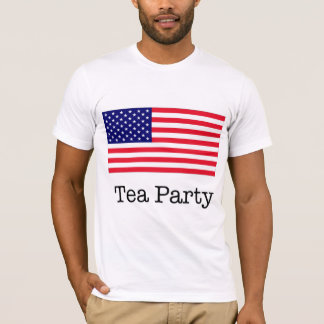 Tea Party American Flag T-Shirt