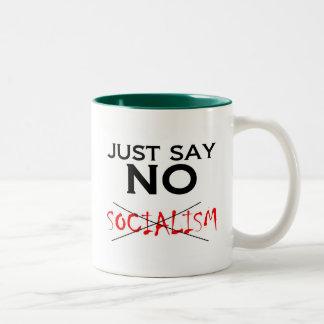 Tea Party Anti Socialist Mug