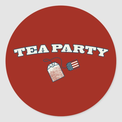 Tea Party Arc Stickers