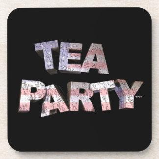 Tea Party Beverage Coasters