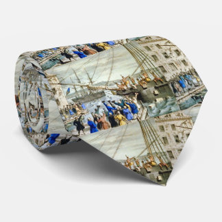 Tea Party Boston 1773 Tie