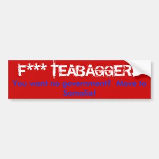 Tea Party Bumper Sticker