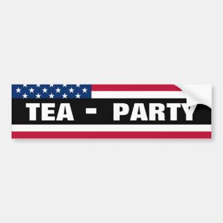TEA-Party Car Bumper Sticker