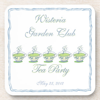 Tea Party Coaster Set