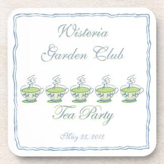 Tea Party Coaster Set