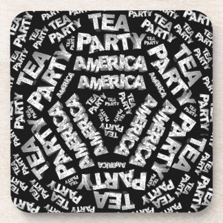 Tea Party Collage Coasters