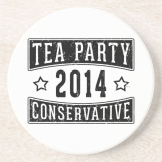 Tea Party Conservative Drink Coasters