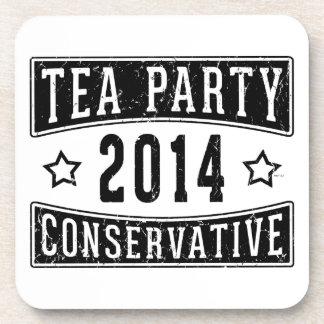 Tea Party Conservative Coaster