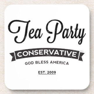 Tea Party Conservative Beverage Coasters