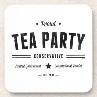 Tea Party Conservative Drink Coaster
