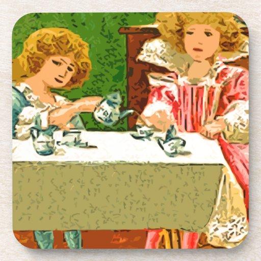 tea Party Coaster