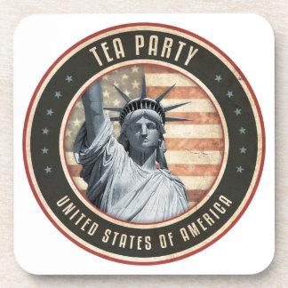 Tea Party Drink Coaster