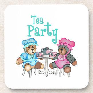 TEA PARTY COASTERS