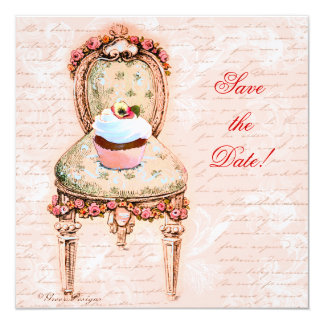 Tea Party Cupcake & Chair Card