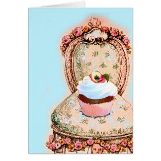 Tea Party Cupcake Design Cards
