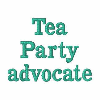 Tea Party Polo Shirt