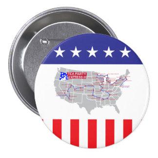 Tea Party Express III Pin