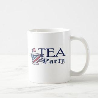 Tea Party Flag Coffee Mugs