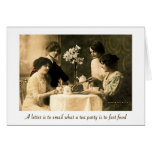 Tea Party for the Soul Card