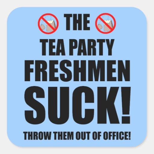 tea party freshmen sticker