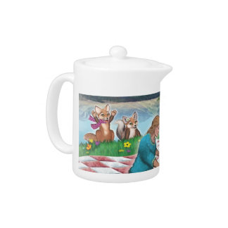 Tea Party & Games tea pot