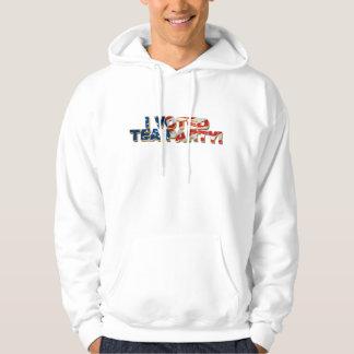 tea-party hooded sweatshirt