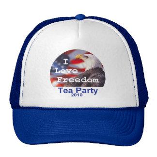 TEA PARTY I Love Freedom Hat