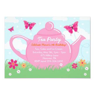 Tea Party Invitations