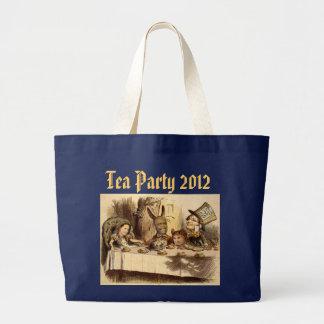 Tea Party Jumbo Tote Jumbo Tote Bag