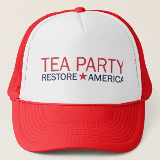 Tea Party Movement Restore America Hat