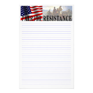 Tea Party Patriot Customizable Stationery