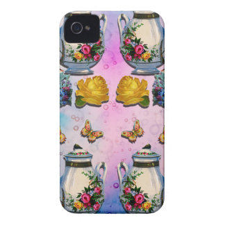 TEA PARTY PATTERN iPhone 4 CASE