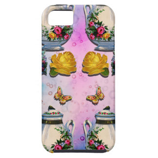 TEA PARTY PATTERN iPhone 5 CASES