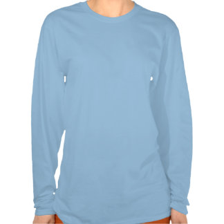 Tea Party pie chart ladies shirts