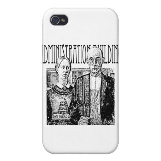 Tea party Pitchfork protest iPhone 4 Cover