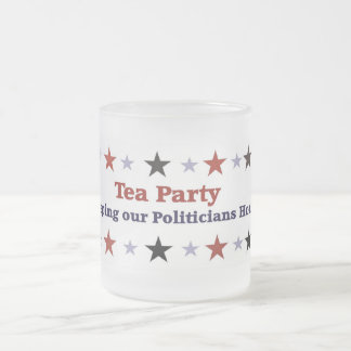 Tea Party Political Gear Frosted Mug