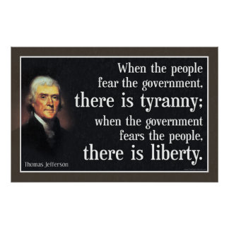 Tea Party Poster: Tyranny vs. Liberty Poster