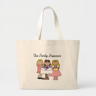 Tea Party Princess Large Tote Bag