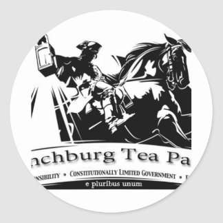 Tea Party Products Sticker