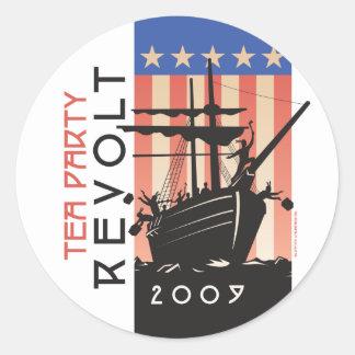 Tea Party Revolt 2009 Sticker