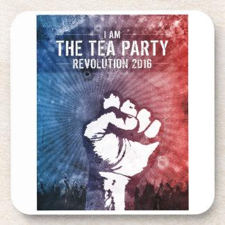 Tea Party Revolution 2016 Coaster