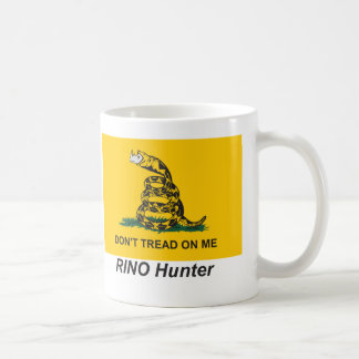 Tea Party RINO Hunter Coffee Mug