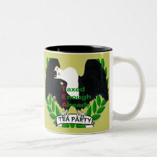 TEA Party Supplies Two-Tone Mug