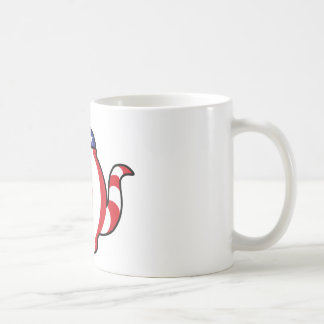 Tea Party Symbol 3D look Coffee Mug