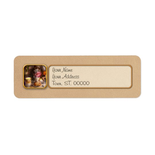 Tea Party - The magic of a tea party Return Address Label