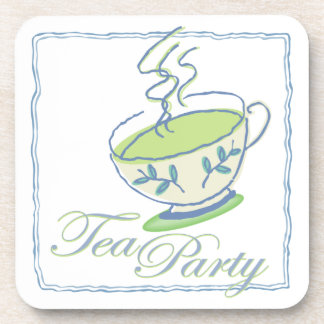 Tea Party Time Coaster Set