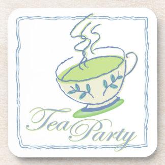 Tea Party Time Coaster Set