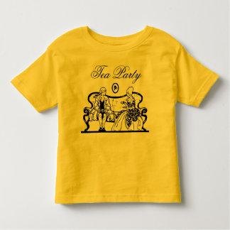tea party toddler shirt